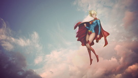 Supergirl Background