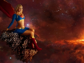Supergirl Desktop Background