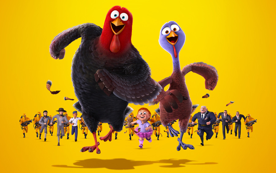 Free Birds (2013) Wallpaper