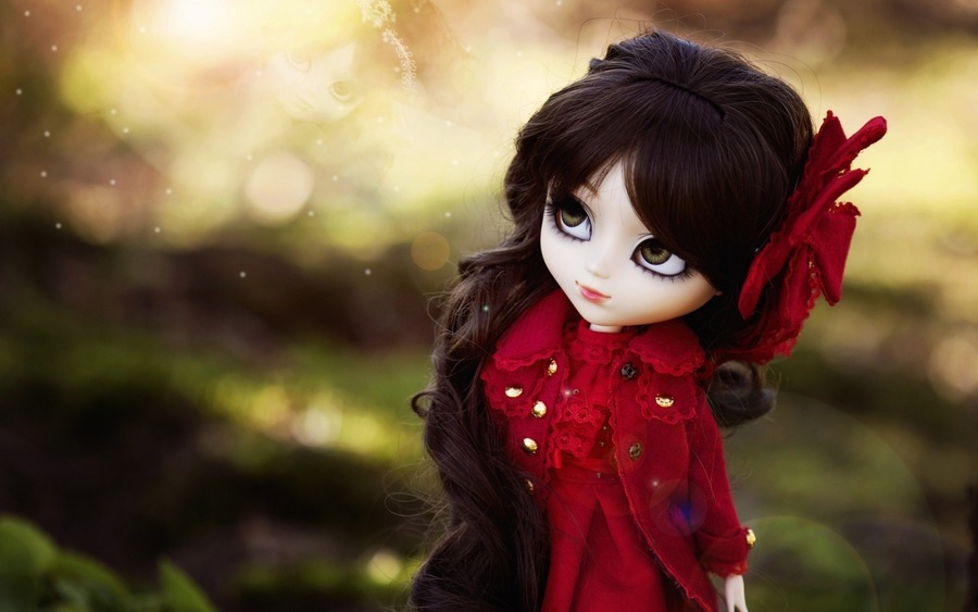 Red Dress Doll