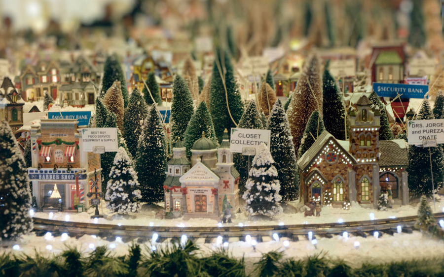 Christmas Town Decoration