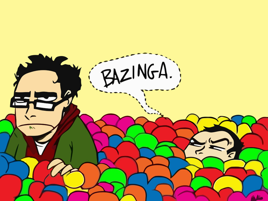 Big Bang Theory Bazinga  Wallpaper, High Definition, High Quality