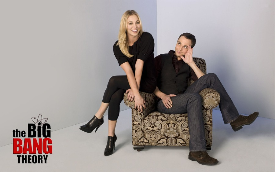 Big Bang Theory Sheldon Cooper and Penny