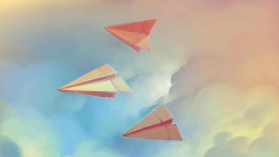 Paper Airplanes Origami