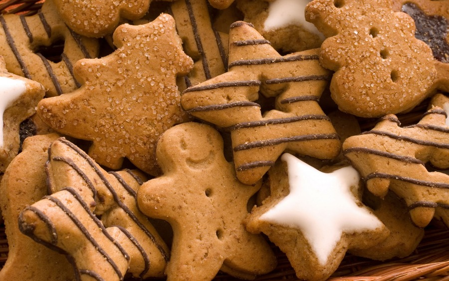 Christmas Cookies Desktop Backgrounds