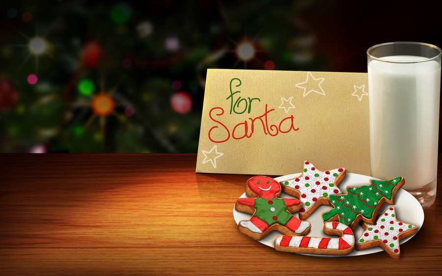 Christmas Cookies Free Wallpapers