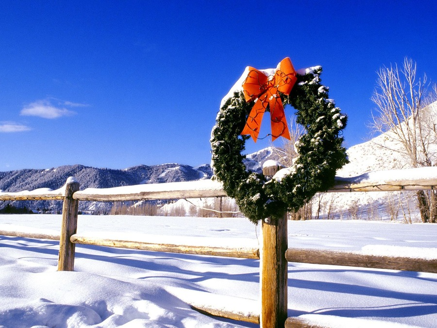 Christmas Wreaths Wallpapers