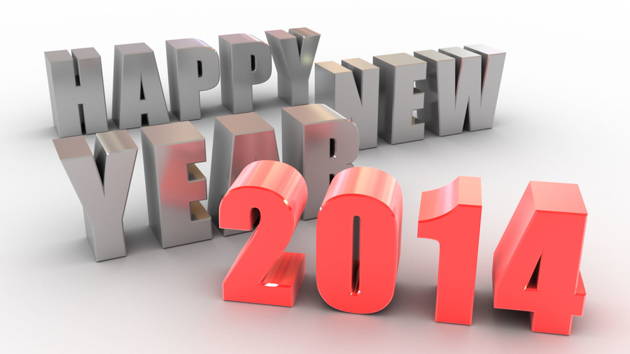 Happy New Year 2014 Backgrounds