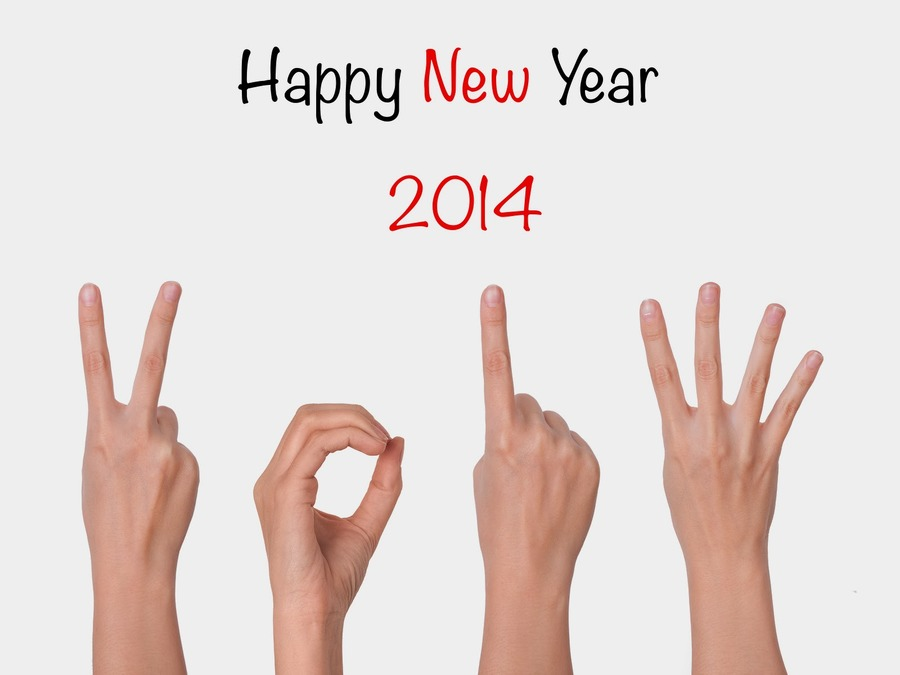 Happy New Year 2014 Cool Wallpaper