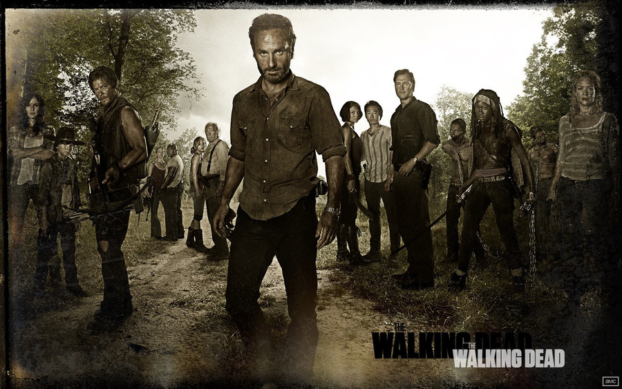 The Walking Dead Wide Wallpaper