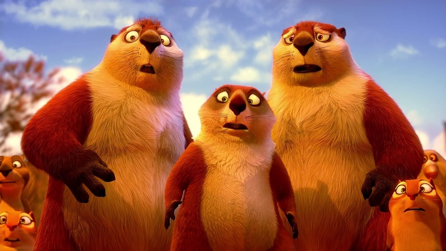 The Nut Job Characters