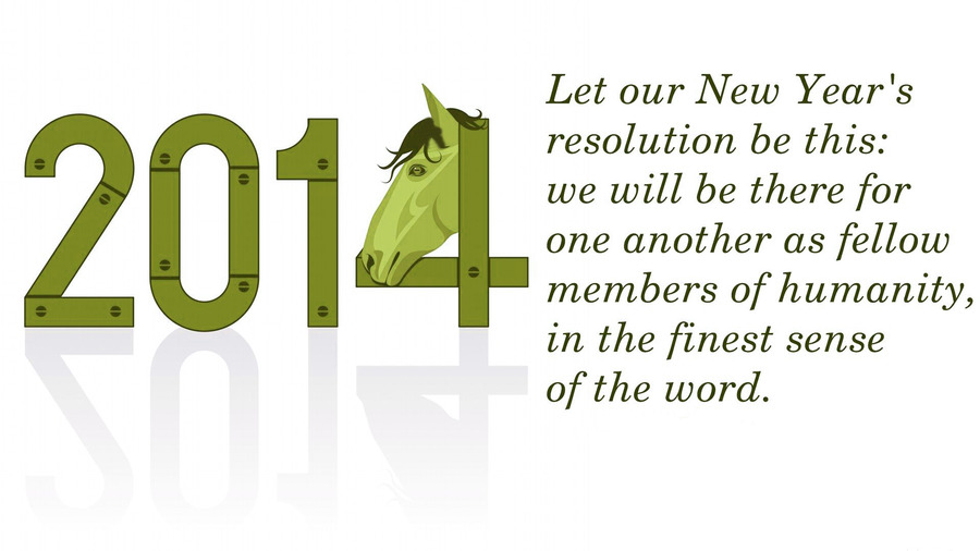 New Year 2014 Wishes