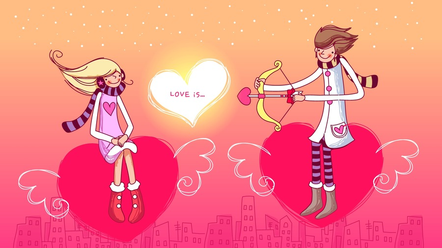 Cartoon Love Pic