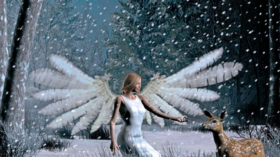Snow Angel Wallpapers