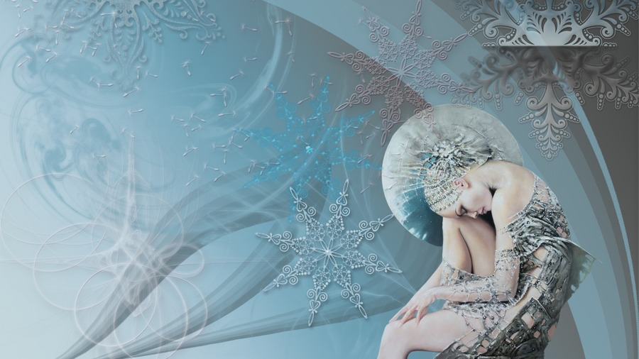 Snow Queen Background