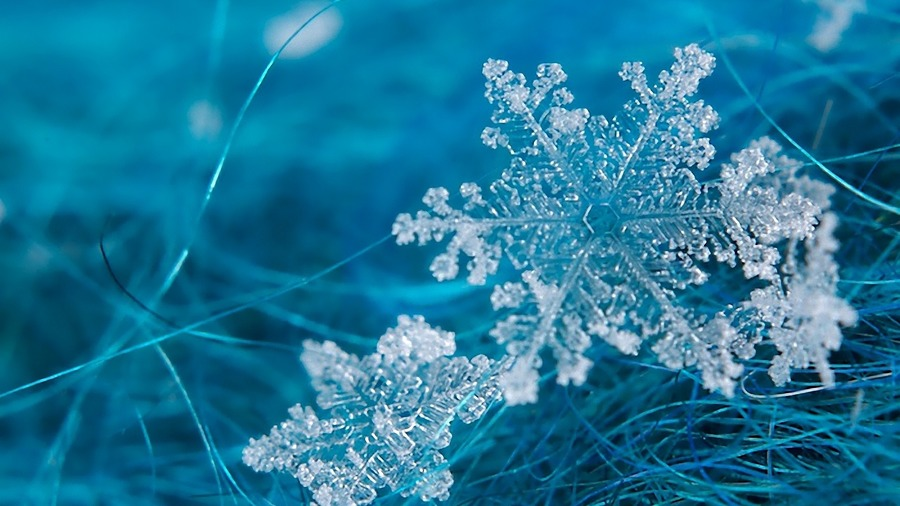 Snowflake Desktop Wallpaper
