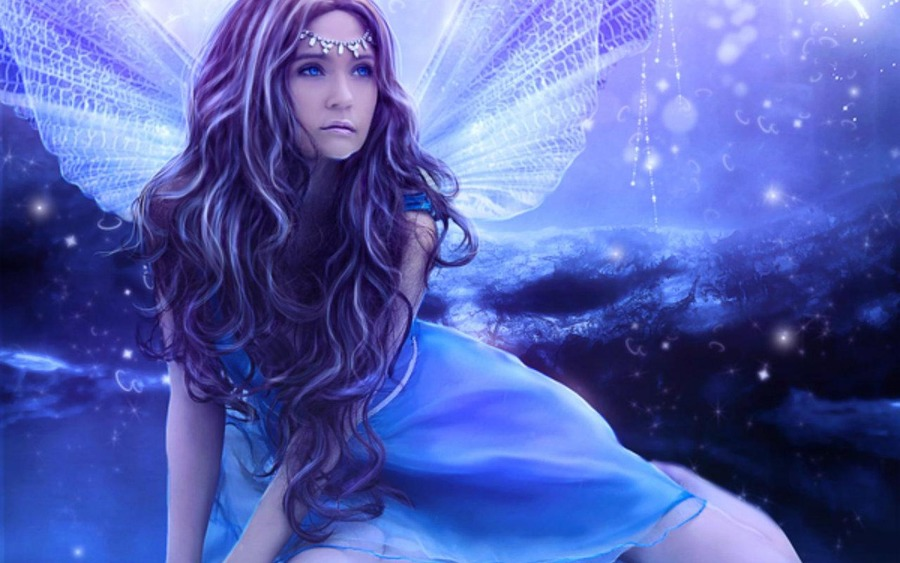 Winter Fairy - Wallpaper, High Definition, High Quality ...