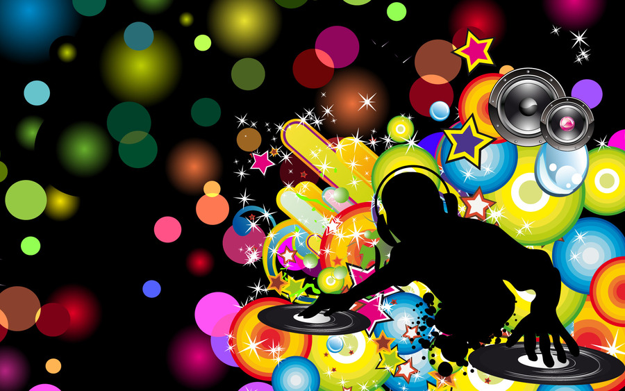 DJ Abstract Wallpaper