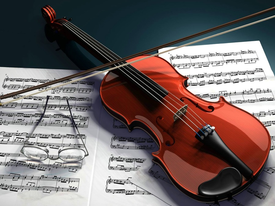 Violin Widescreen