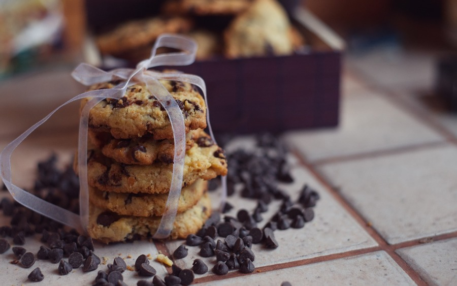 Chocolate Chip Cookies Wallpaper
