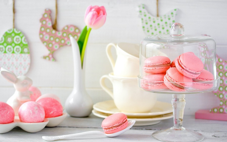 Macarons Backgrounds