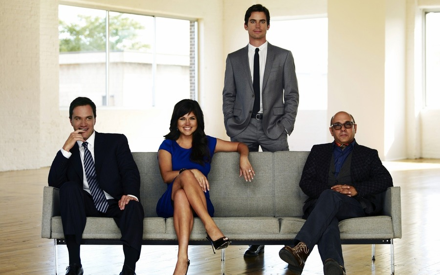 White Collar Background