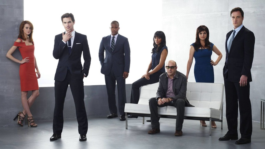 White Collar Wallpaper