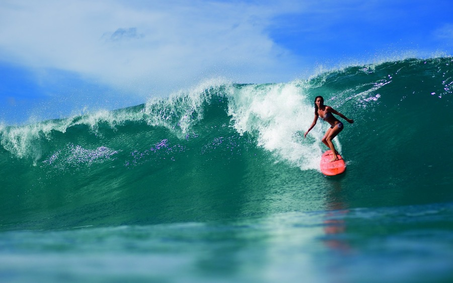 Surfing Pic