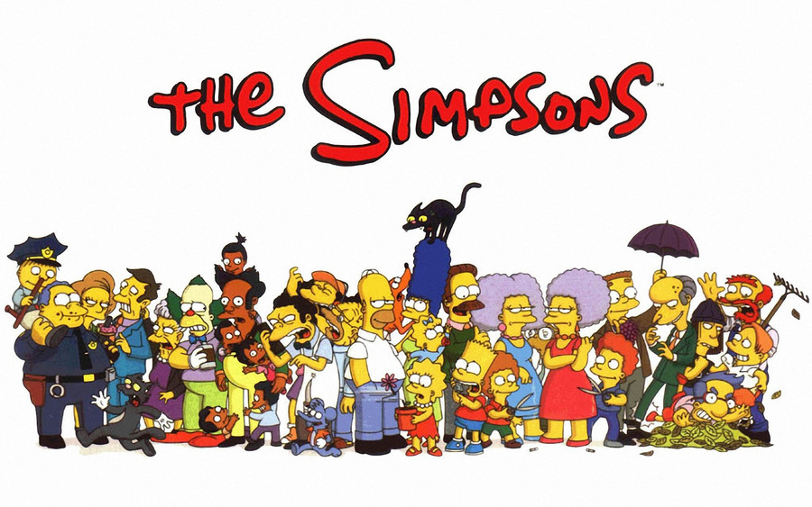 Cartoon The Simpsons