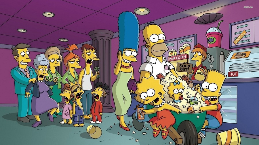 The Simpsons 1080p Wallpaper