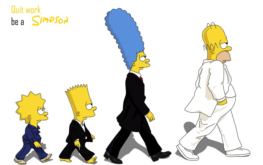 The Simpsons Desktop Wallpaper