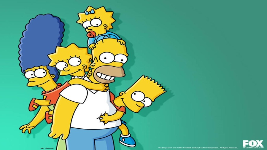 The Simpsons Full HD Wallpaper
