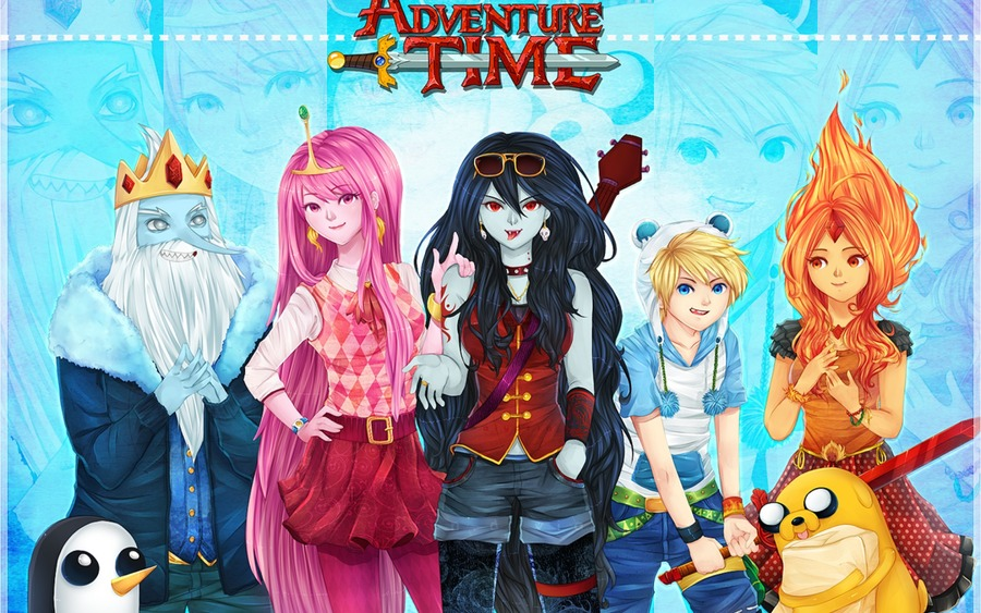 Adventure Time Cartoon