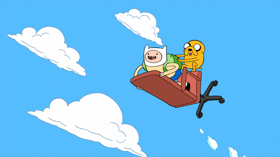 Adventure Time Free Background