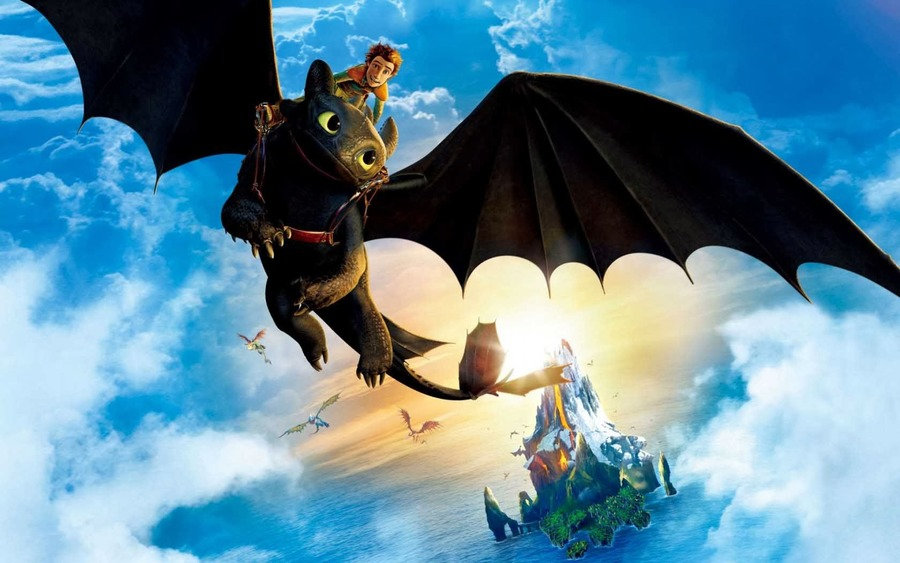How to Train Your Dragon Backgrounds