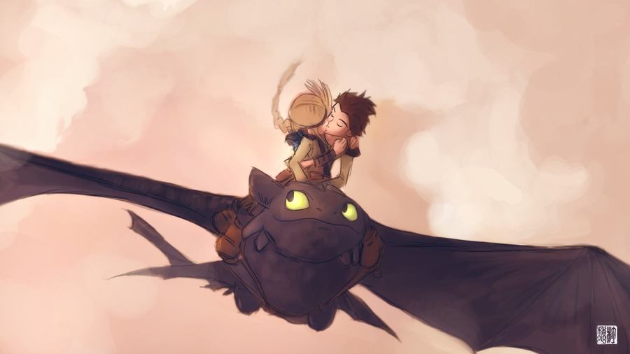 How to Train Your Dragon Desktop Wallpaper