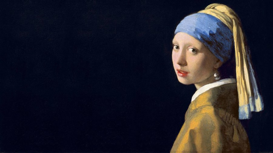 Girl With A Pearl Earring Johannes Vermeer - Wallpaper ...