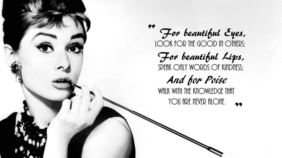 Audrey hepburn quotes wallpaper high definition high quality