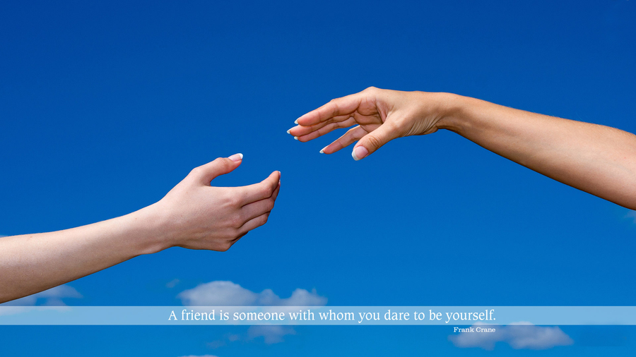 Friendship Quotes Desktop Wallpaper