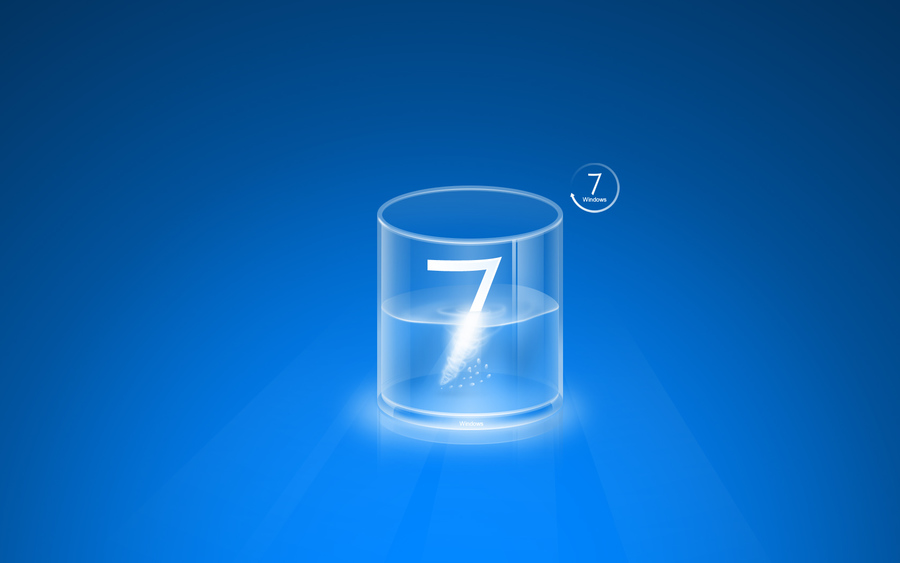 Clear Glass Windows 7