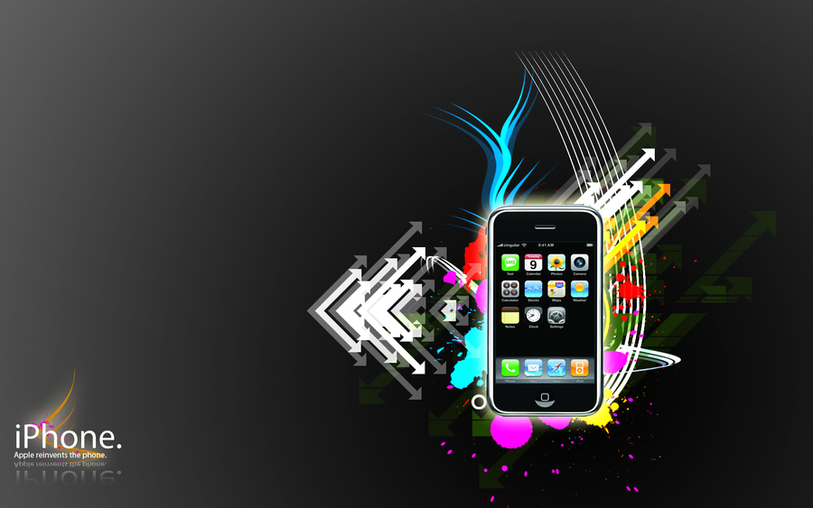 Iphone Vector Style