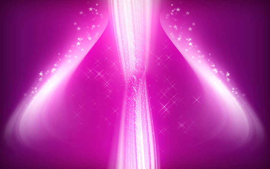 Pink Glow Abstract