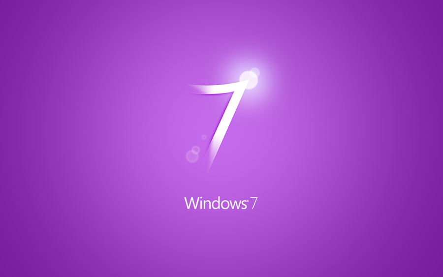 Windows 7 Purple