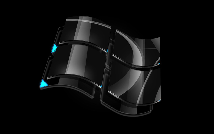 Windows Dark Glass Logo