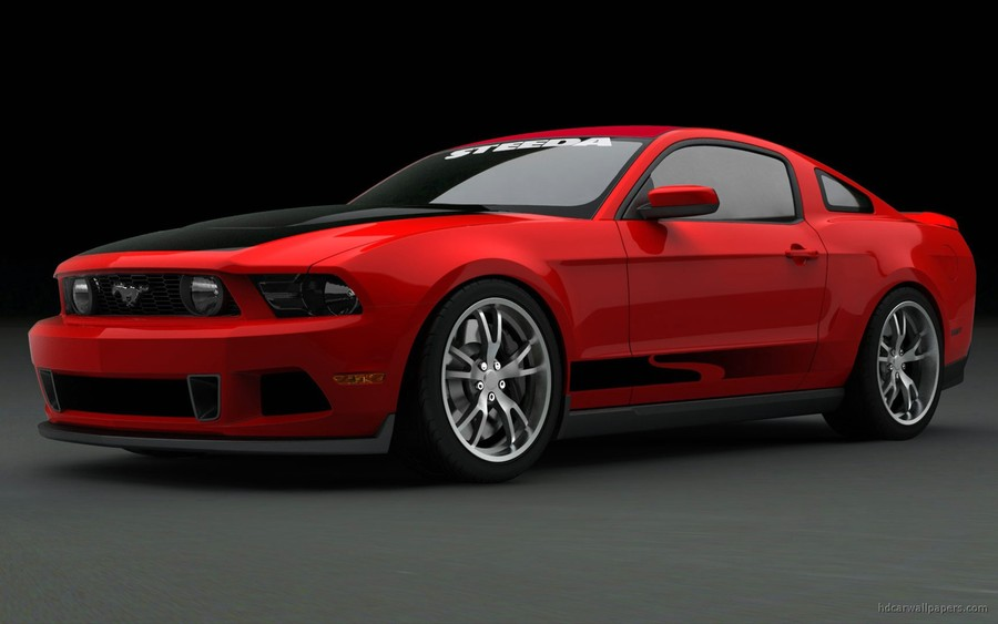 2010 Ford Mustang At Sema 2009 Wallpaper