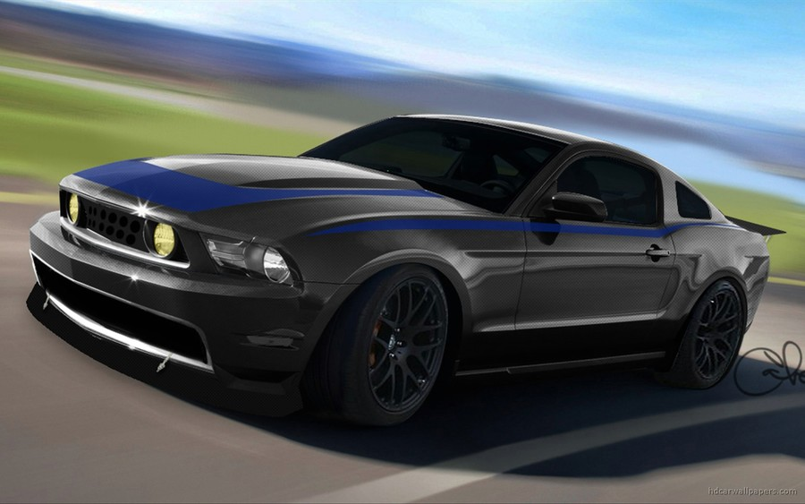 2010 Ford Mustang At Sema 2009 Wallpapers