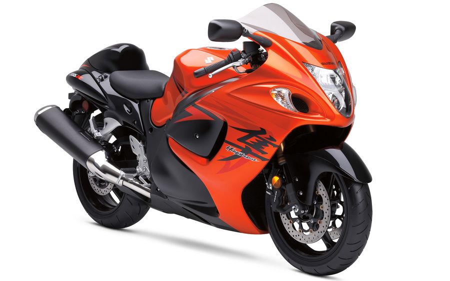 Suzuki Hayabusa Orange Bike