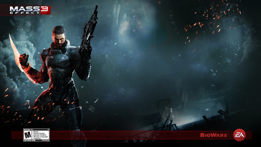 Action Game Mass Effect