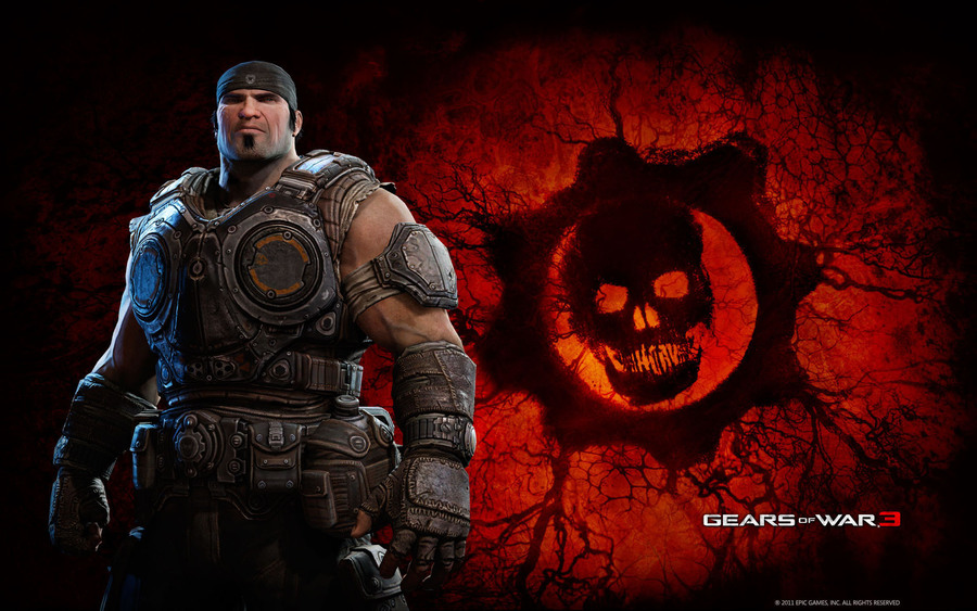 Marcus In Gears Of War