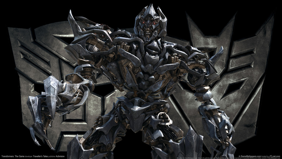 Transformers The Game Megatron